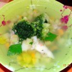 Суп из судака с брокколи Супы
