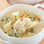 Суп из трески на молоке Эстонская кухня