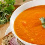 Суп красный чечевичный Первые блюда Турецкая кухня