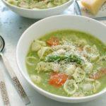 Суп «Минестроне» ссоусом Песто Супы