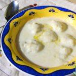 Суп молочный с картофельными клецками Белорусская кухня