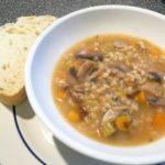 Суп перловый с грибами Белорусская кухня