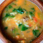 Суп по-адански Первые блюда Турецкая кухня