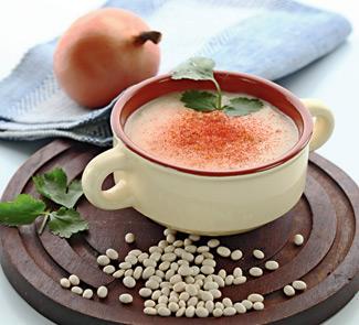 Суп-пюре из белой фасоли Армянская кухня
