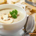 Суп-пюре из грибов Супы