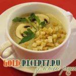 Суп-пюре по-флорентийски Супы