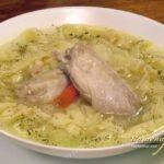 Суп с лапшой «Праздничный» Армянская кухня