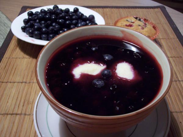 Суп сладкий с клецками и черносливом Литовская кухня