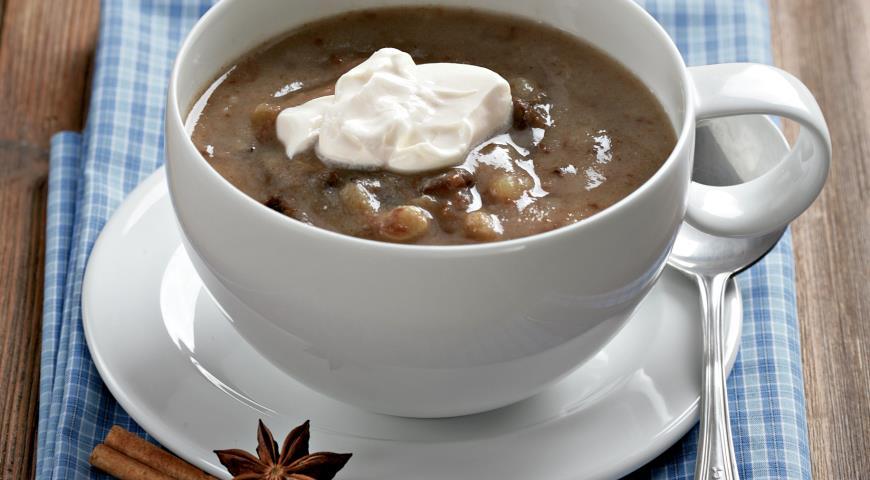 Суп «хлебный» Латышская кухня