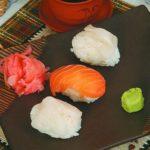 Суси с омарами Японская кухня