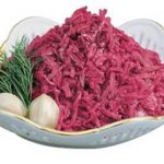 Свекольный салат Латышская кухня