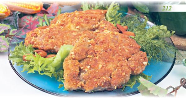 Свиная отбивная в тесте, жаренная на рашпере Вторые блюда Молдавская кухня