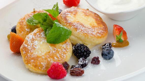 Сырники Украинская кухня