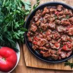 Тас-кебаб Азербайджанская кухня