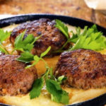 Тава-кебаб (биточки из бараньего фарша) Азербайджанская кухня