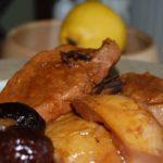 Телятина с айвой Блюда из мяса Вторые блюда