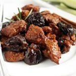 Телятина с черносливом Вторые блюда