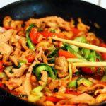 Телятина с овощами Блюда из мяса Вторые блюда