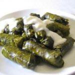 Толма (голубцы с виноградными листьями) Армянская кухня