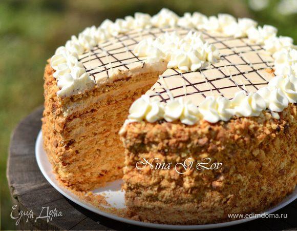 Торт «Арахисовый»