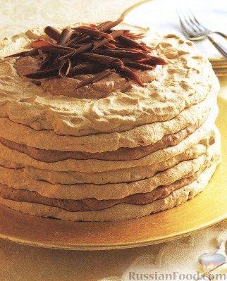 Торт безе Выпечка Торты