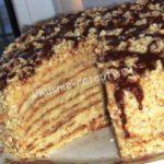 Торт «Лакомка» Выпечка