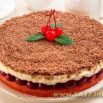 Торт «Наслаждение» Выпечка Торты