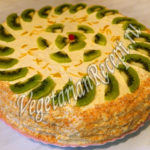 Торт с киви Выпечка