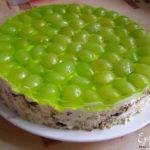 Торт «Виноградный» Выпечка