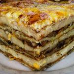 Торт закусочный с мясными продуктами Закуски
