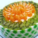 Торт «Жаркие тропики» Выпечка Торты