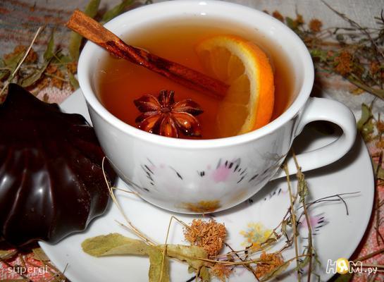 Травяной чай с имбирем Напитки