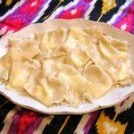Тухум-барак (таджикские вареники с начинкой из лука и яиц) Вторые блюда Таджикская кухня