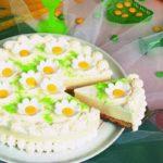 Творожно—сметанный торт «Ромашка» Выпечка Торты