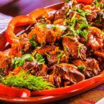 Тжвжик (блюдо из субпродуктов) Армянская кухня