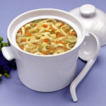 Унаш (мясной суп с фасолью и лапшой) Супы Туркменская кухня