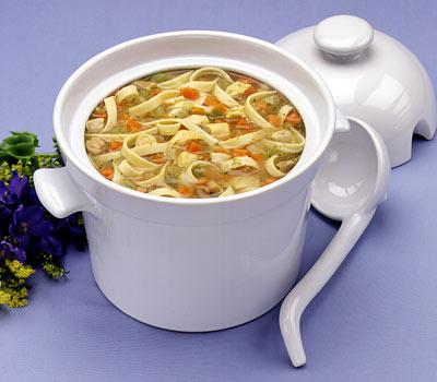 Унаш (мясной суп с фасолью и лапшой)