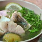 Уха тройная Рыбацкая кухня