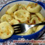 Вареники ленивые с картофелем Из картошки