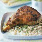 Весенняя баранина с горчицей фасолью Блюда из мяса Вторые блюда