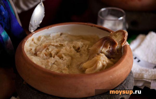 Хаш (густой суп) Армянская кухня