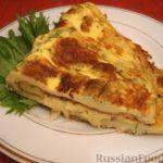 Хейгенек (омлет с мукой и молоком) Туркменская кухня