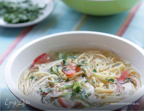 Холодный острый суп
