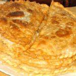 Хошнан (пирожки с мясом) Киргизская кухня