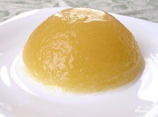 Яблочное желе Десерты Желе