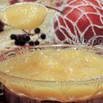 Яблочный мусс с ликером Десерты Фруктовые десерты