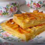 Яблочный пирог Мучные изделия Турецкая кухня