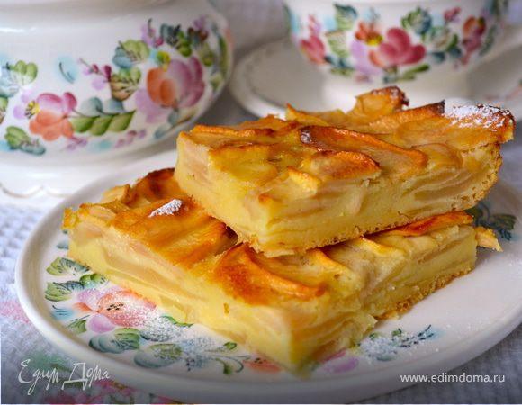 Яблочный пирог Выпечка Пироги
