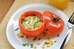 Яичница в помидорах Украинская кухня