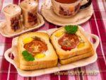 Яйца с окороком Украинская кухня
